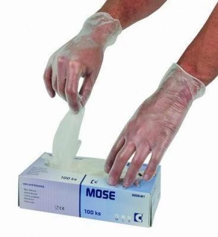 83bc6579141 Jednorázové vinylové rukavice (bal. 100 ks)